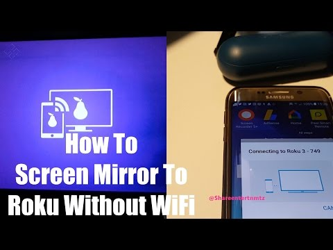 How To Screen Mirror To Roku Without Wifi