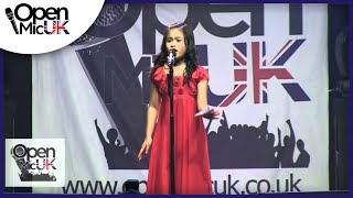 Open Mic UK | Arisxandra Libantino | Singing contest Grand Final