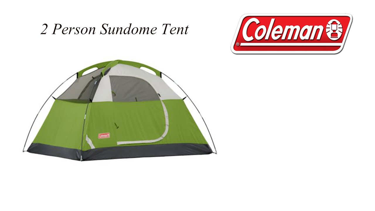 Coleman - 2 Person - Sundome Tent - MoLotto P4P - Unboxing u0026 Set Up - YouTube  sc 1 st  YouTube : 2 person tent - memphite.com