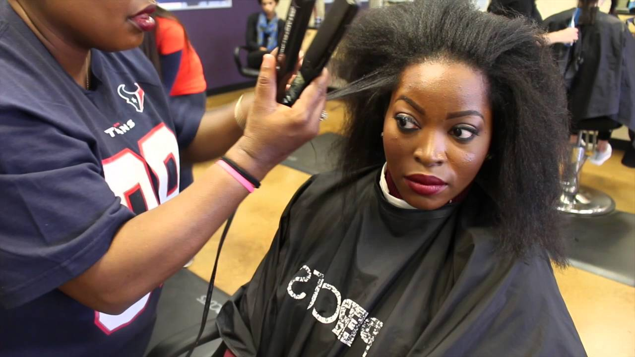 How To Trim Natural Hair My Salon Experience At Supercuts Youtube