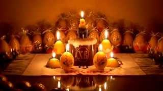 Natali candles - пасхальные свечи горят видео - candles.com.ua