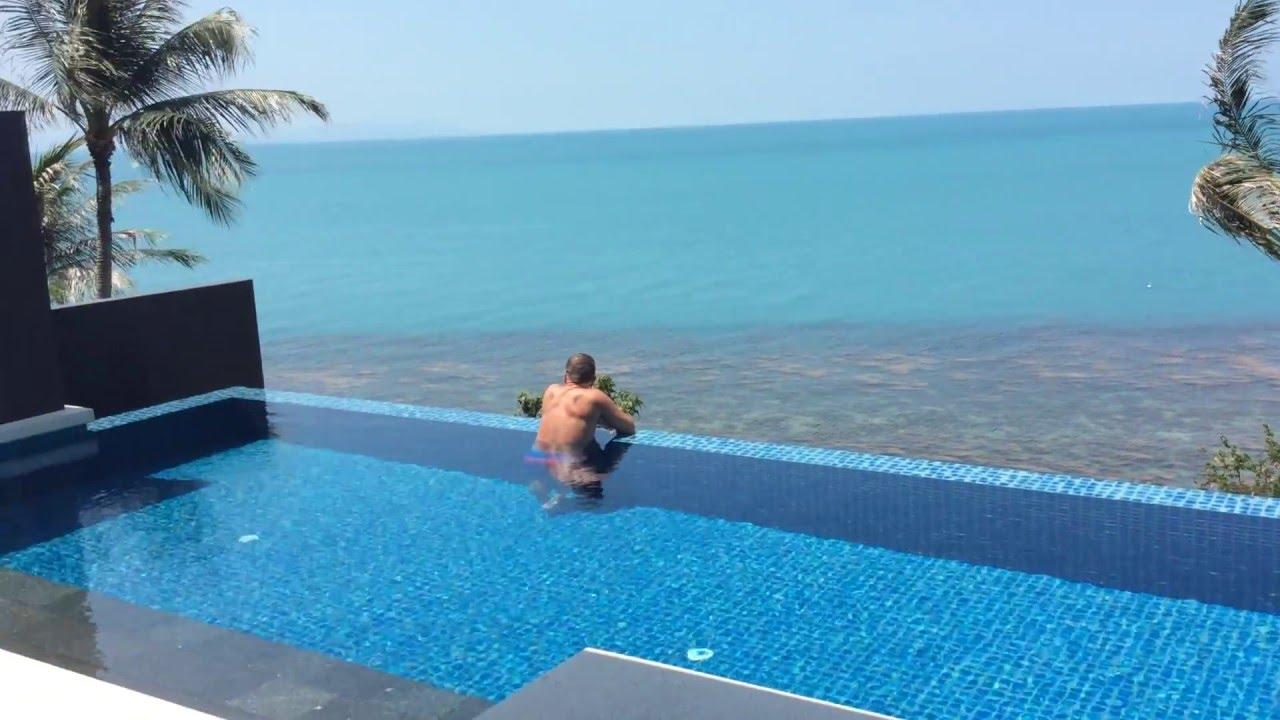 Conrad koh samui oceanfront pool villa koh samui thailand for Koh tao cabana koi pool villa