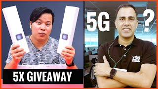 Future of 5G in India? + 5X Giveaway🎁  Ft OPPO India. In conversation with TasleemArif