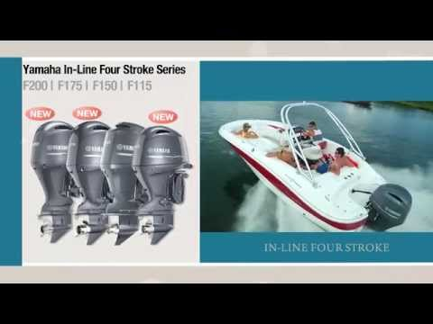 Yamaha Outboards In-Line Four Strokes