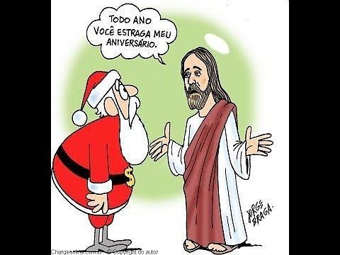Image De Noel Jesus.Papai Noel Vs Jesus
