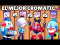 OLIMPIADAS de CROMATICOS   LOU vs SURGE vs COLETTE vs GALE   NUEVO BRAWLER CROMATICO   BRAWL STARS