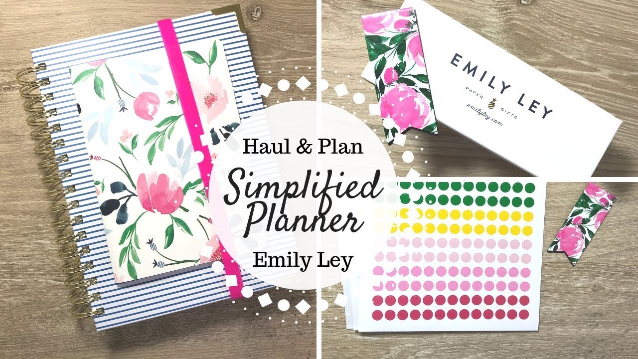 photo relating to Simplified Planner Emily Ley identified as Simplified Planner Haul Clean RELEASES Emily Ley