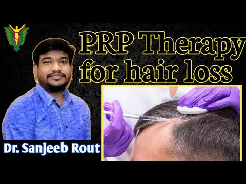 PRP (platelet-rich plasma) therapy for hair loss // Dr. Sanjeeb Rout // Balaji skin and Hair