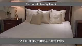 Batte Furniture: Memorial Day Sale