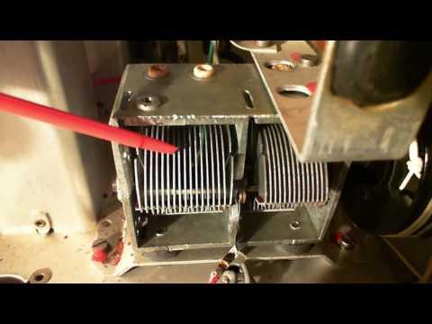 Florida AM/FM/SW Tube Radio Video #5 - Crazy Repair Plans