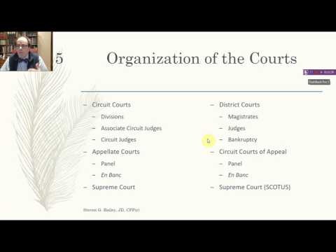 American Court System, State and Federal