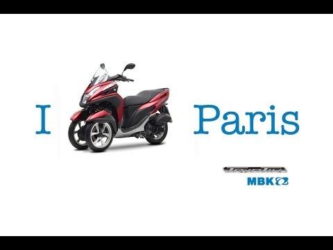 nouveau tryptik mbk le scooter 125cc a trois roues youtube. Black Bedroom Furniture Sets. Home Design Ideas