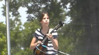 Cara plays E.M.D..at Uncle Jimmy Thompson bluegrass festival
