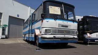 Първи експонат от Музея на транспорта в Бургас - ЧАВДАР 11М3 - 4.06.2015год.