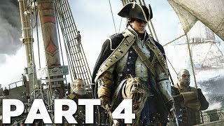 ASSASSIN'S CREED 3 REMASTERED Walkthrough Gameplay Part 4 - KANIEHTÍ:IO (AC3)