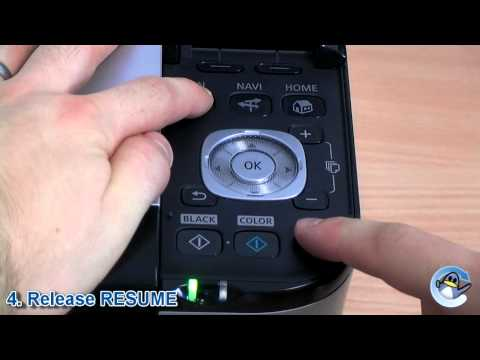 Canon MP550 Ink Absorber Reset (6C10 Error Code)