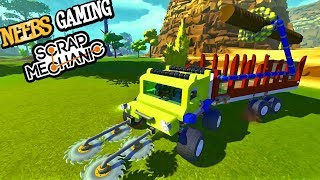 Scrap Mechanic - Logging Machines!