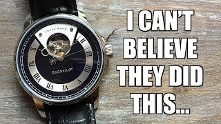 Thomas Earnshaw Beagle Automatic Watch Review Es 0035 01 Perth Watch 232 Youtube