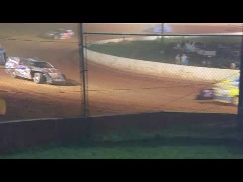 Greyson and bucks win at east Lincoln speedway june 18 2016