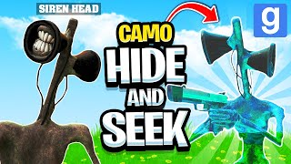 Extreme Camo PRANK in TREVOR HENDERSON Hide & Seek! (Garry's Mod Sandbox)