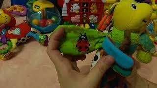 Видео обзор Lamaze светлячок Фредди, развивающая игрушка - подвеска бабочка.