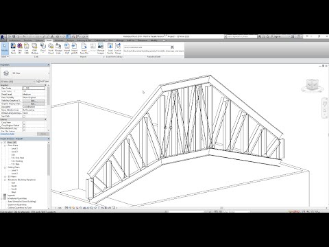Introduction to Structural Trusses in Revit 2016