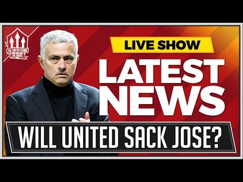 When Will MOURINHO Be Sacked? Man Utd News