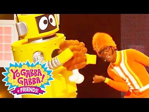 Yo Gabba Gabba!   Party in my Tummy Live   Yo Gabba Gabba DJ Lance Dance   Food Songs for Kids