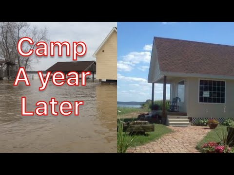 The flood a year later
