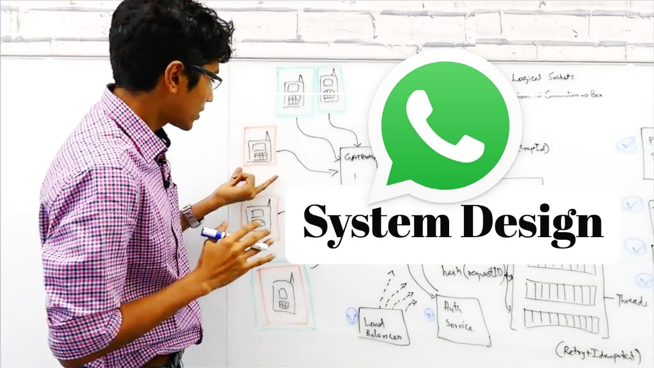 Whatsapp System Design Chat Messaging Systems For Interviews Youtube