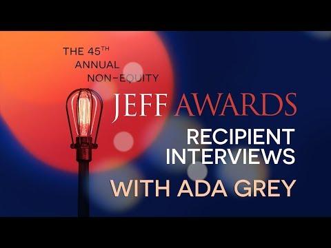 Ada Grey s 2018 NonEquity Jeff Awards Recipients
