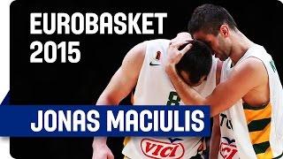 Jonas Maciulis' 34 points v Georgia - EuroBasket 2015