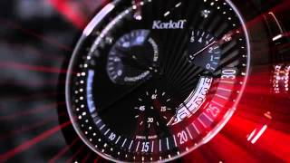 Korloff PARIS RETRO Classic - Retrograde Timepiece - Paris Gallery - باريس غاليري