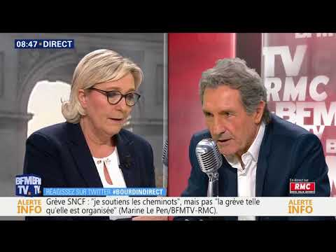 Marine Le Pen : Nous demandons la suppression du droit du sol ! 18/4