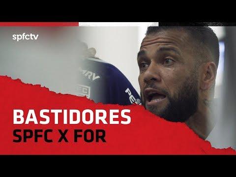 BASTIDORES: SÃO PAULO 2x1 FORTALEZA   SPFCTV