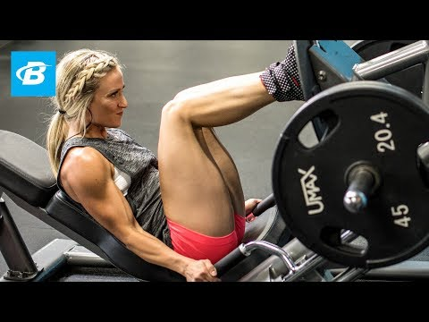 Glutes For Her | IFBB Bikini Pro Amy Updike's Lower Body Workout