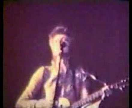 David Bowie-Rainbow 1972 footage