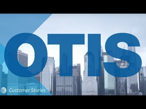 Elevator Company Otis Gets Lift From Technology   AT&T Customer Stories