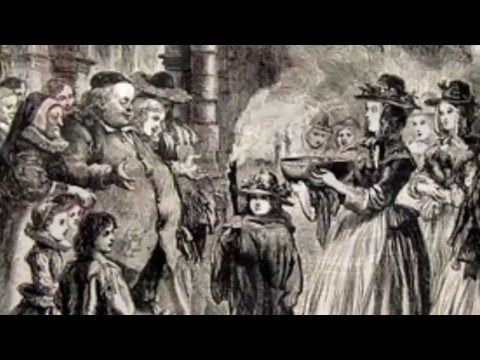 How did the Christmas caroling tradition begin?