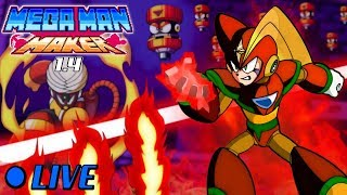 We Play Your Mega Maker Levels LIVE! #52: REVENGEANCE!!!