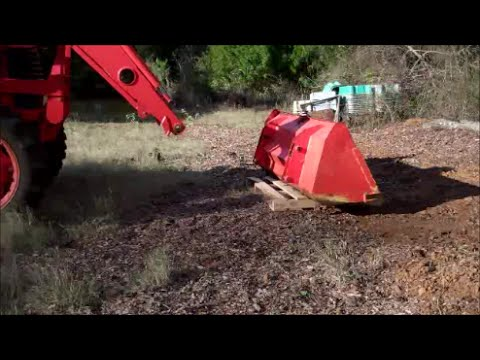 Removing The Bucket From A Kubota Front Loader Without Quick Attach