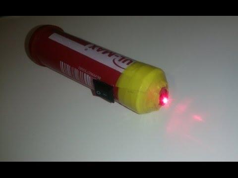 Как сделать лазер проще простого