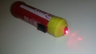 як зробити лазер саморобний
