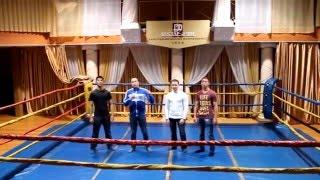 Видео приглашение на профессиональные бои по кикбоксингу