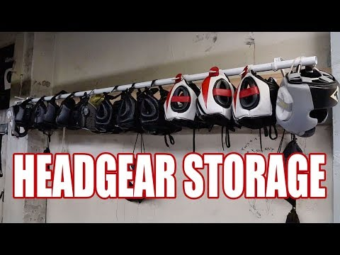 VLOG #1, HEADGEAR STORAGE