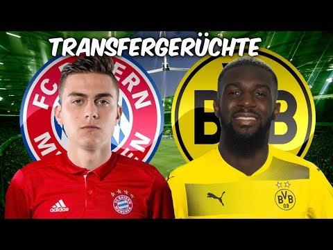 Dybala zu den Bayern ? | Bakayoko zum BVB ? | Transfers ...