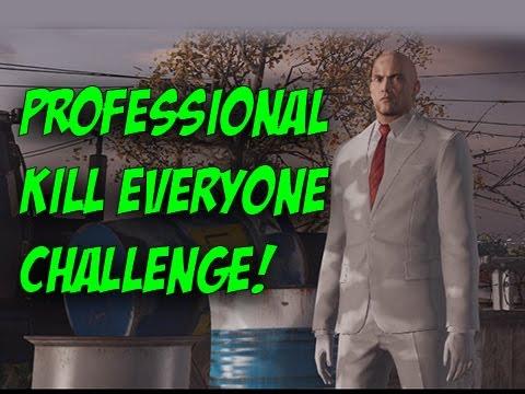 Professional Mode Colorado Kill Everyone Challenge! - Hitman
