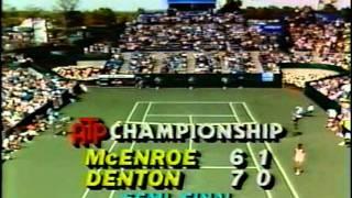 Steve Denton vs John McEnroe