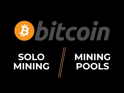 BITCOIN: SOLO MINING VS MINING POOL! Bitcoin Price Analysis!- Bitcoin May 29