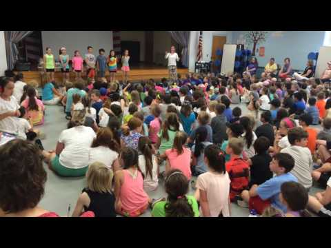 "Hathaway School students sing ""We Are the World"""